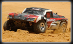 Traxxas Slash on dirt